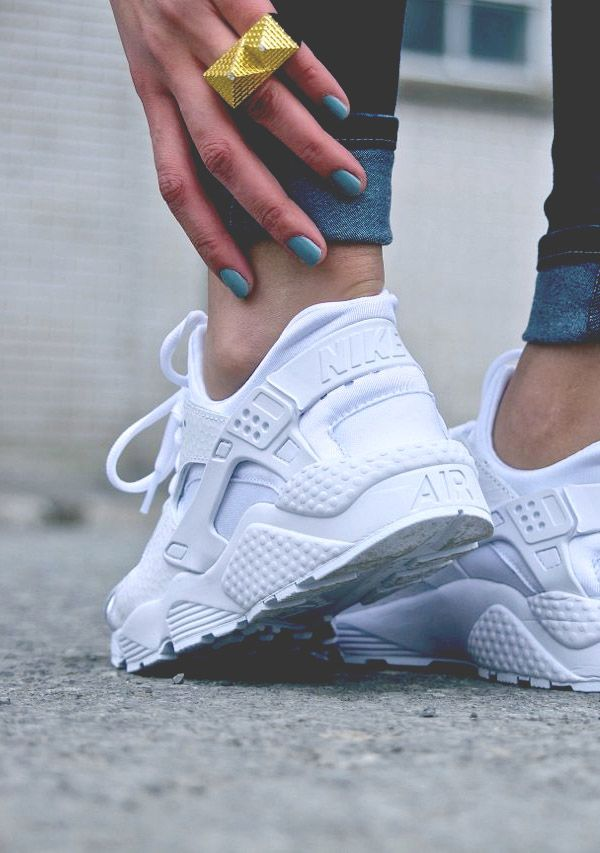Nike Air Huarache Run Blancas