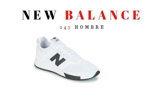 New Balance 247 Hombre Blancas
