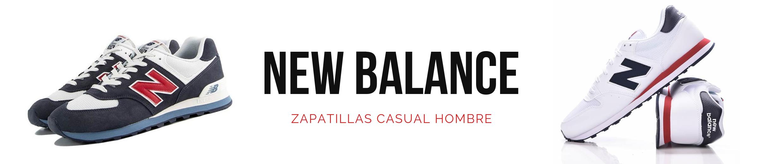 zapatillas casual new balance hombre